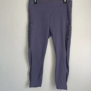 Fabletics On-The-Go High-Waisted Powerhold Leggings - Small